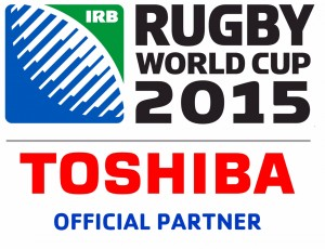 Toshiba Rugby World Cup logo