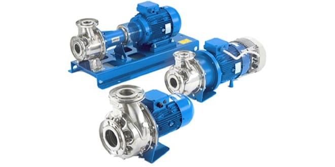 Popular - New Lowara e-series is the next generation of global in-line and end-suction pumps