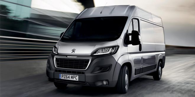 Popular - PEUGEOT commercial vehicles now fourth most popular in the UK