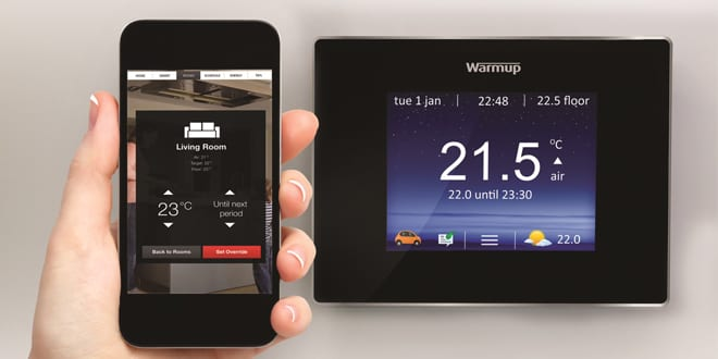 Popular - New 4iE smart WiFi thermostat from Warmup