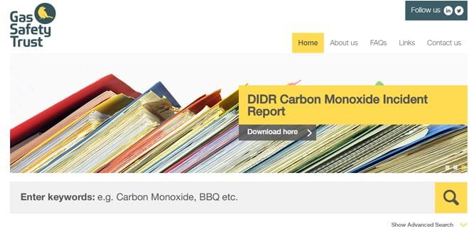 Popular - Gas Safety Trust launches new online Carbon Monoxide Portal resource