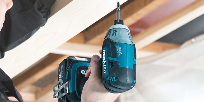 Popular - Makita's first Oil Pulse 'hydraulic' impact driver cuts noise and vibration