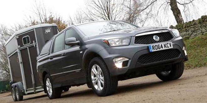 Popular - Korando Sports one tonne pick-up is one of the most affordable on the market