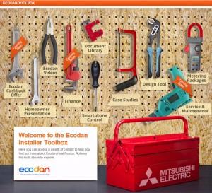 135 Ecodan toolbox