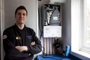 Mark Gallagher - owner of South London Heating - Photographer Claudia Janke
