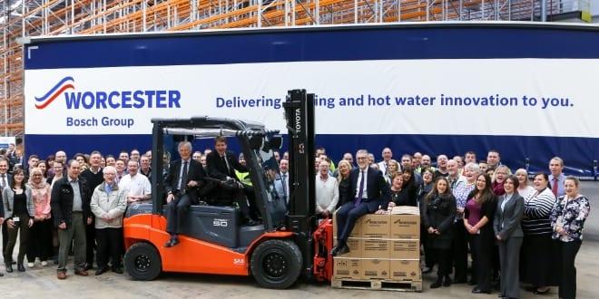 Popular - New Worcester Bosch distribution centre opens its doors