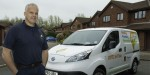 Plumber has free transport on tap with e-NV200