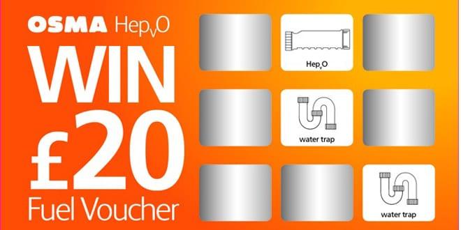 Popular - Win free fuel vouchers with OSMA HepvO