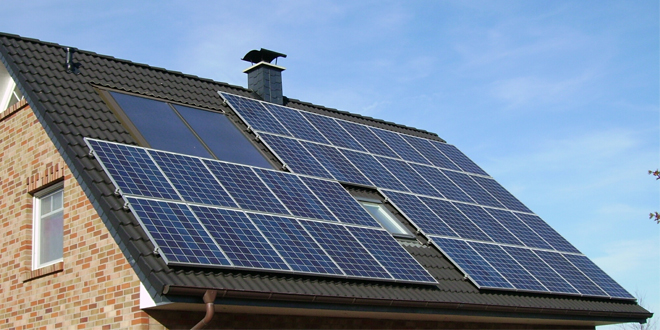 solar panels roof web