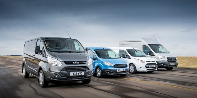 Popular - Ford commercial vehicle sales surge