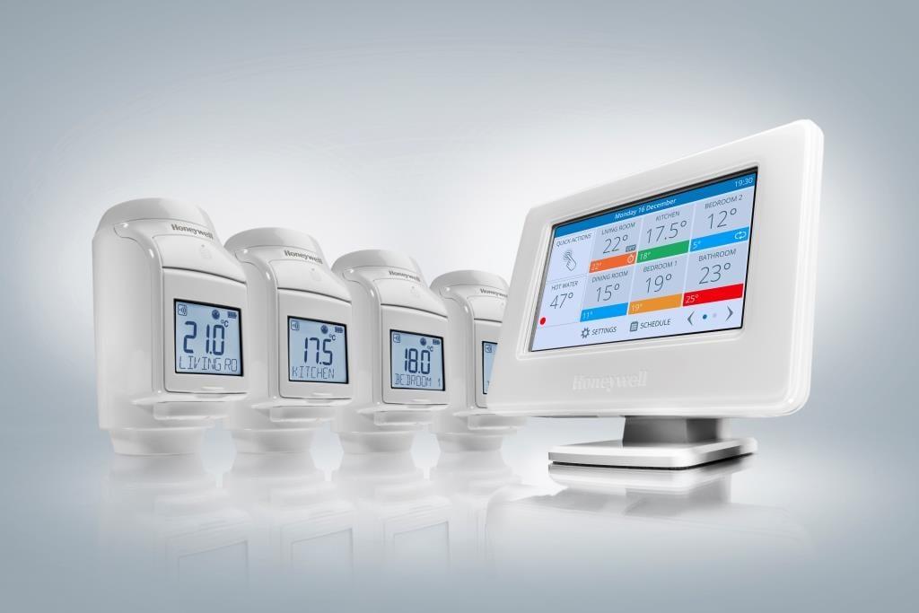 Popular - Latest Honeywell evohome system has built-in WiFi