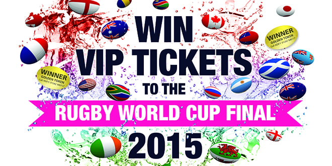 Popular - Win Rugby World Cup final tickets with ADEY