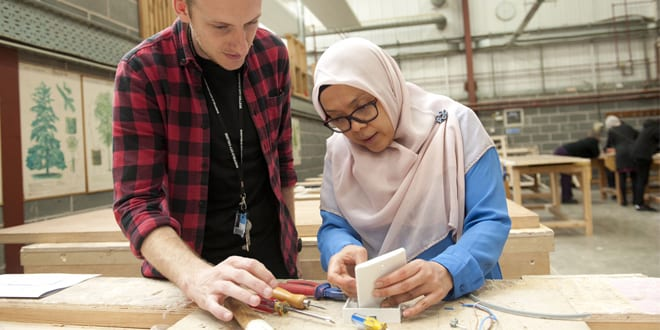 Popular - Taster day encourages more women to enter the industry
