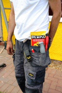 Big Wipes 4x4 Sachet Packs