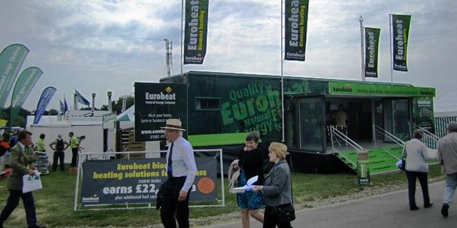 Popular - Euroheat on tour displaying biomass boilers