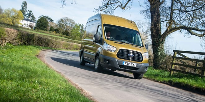 """Popular - Ford Transit named """"Van of the Year"""""""