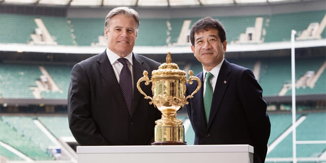 Popular - Toshiba is sponsoring the Rugby World Cup