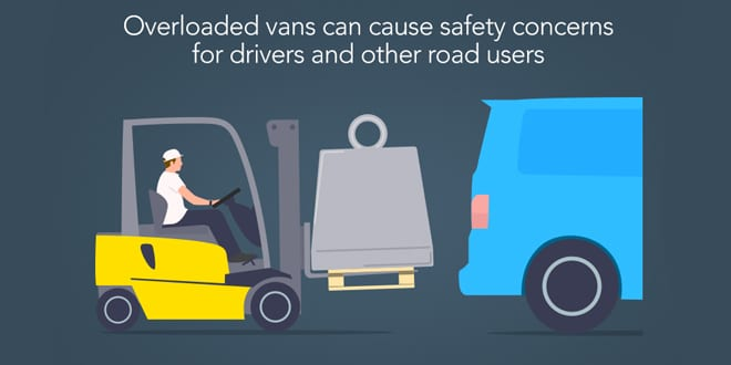Popular - Research shows nearly 50% are driving overloaded vans