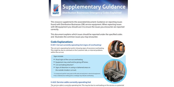 Popular - New NAPIT guidance can make electricians' lives easier