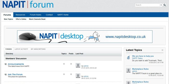 Popular - New Napit forum lets installers talk to like-minded tradespeople