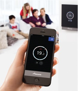 The Wave App allows remote adjustment of heating and hot water performan    (00000002)