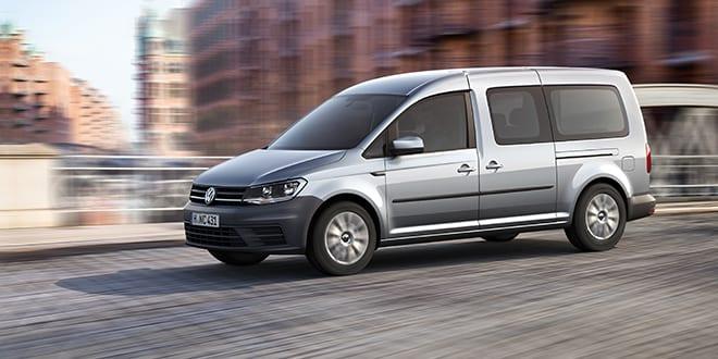 Popular - Volkswagen Caddy Life, Kombi and Window van open for ordering