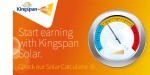 Kingspan Solar launches online solar calculator