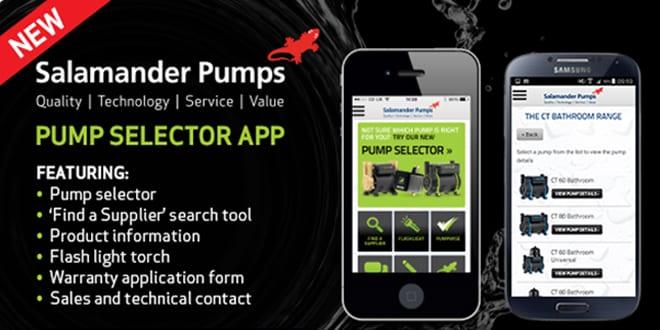 Popular - Salamander Pumps launches new pump selector app