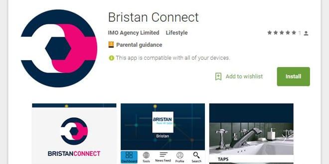 Popular - Bristan Connect app released