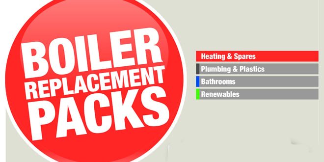 Popular - New Graham Boiler Replacement Packs available to installers
