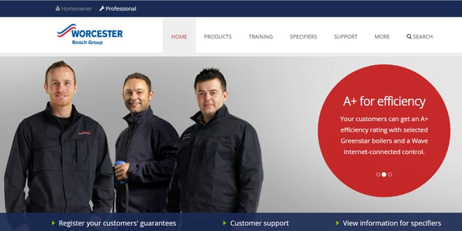 Popular - Worcester launches new website and ErP label generator
