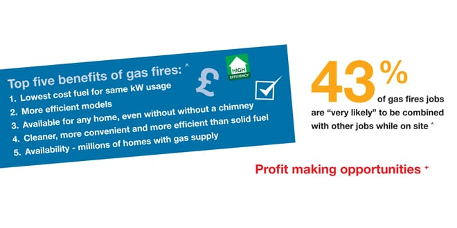 Popular - Thousands of installers missing out on opportunities with gas fires