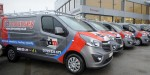 Heating and electrical company chooses Vauxhall Vivaro vans