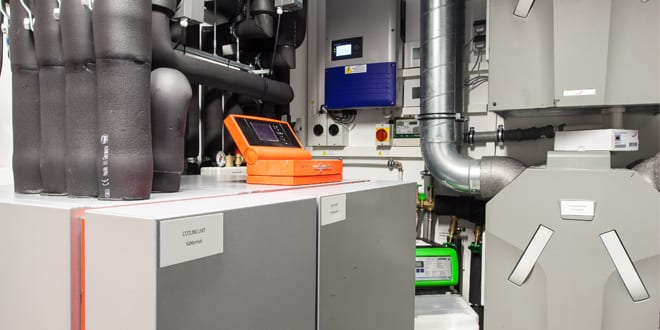 Popular - Viessmann ice store system uses ice to heat and cool a house