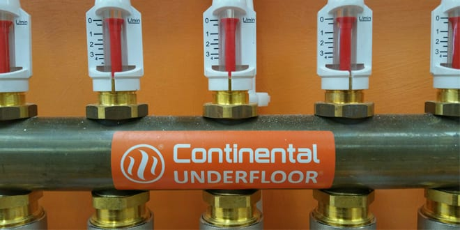 Popular - 8 steps for delivering an annual underfloor heating system check