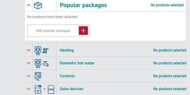 Popular - New Heatrae Sadia ErP tool launched