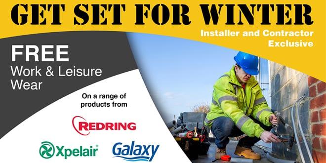 Popular - RXG offering installer free work and leisure wear during heating season