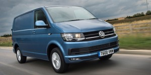 Volkswagen transporter blue web