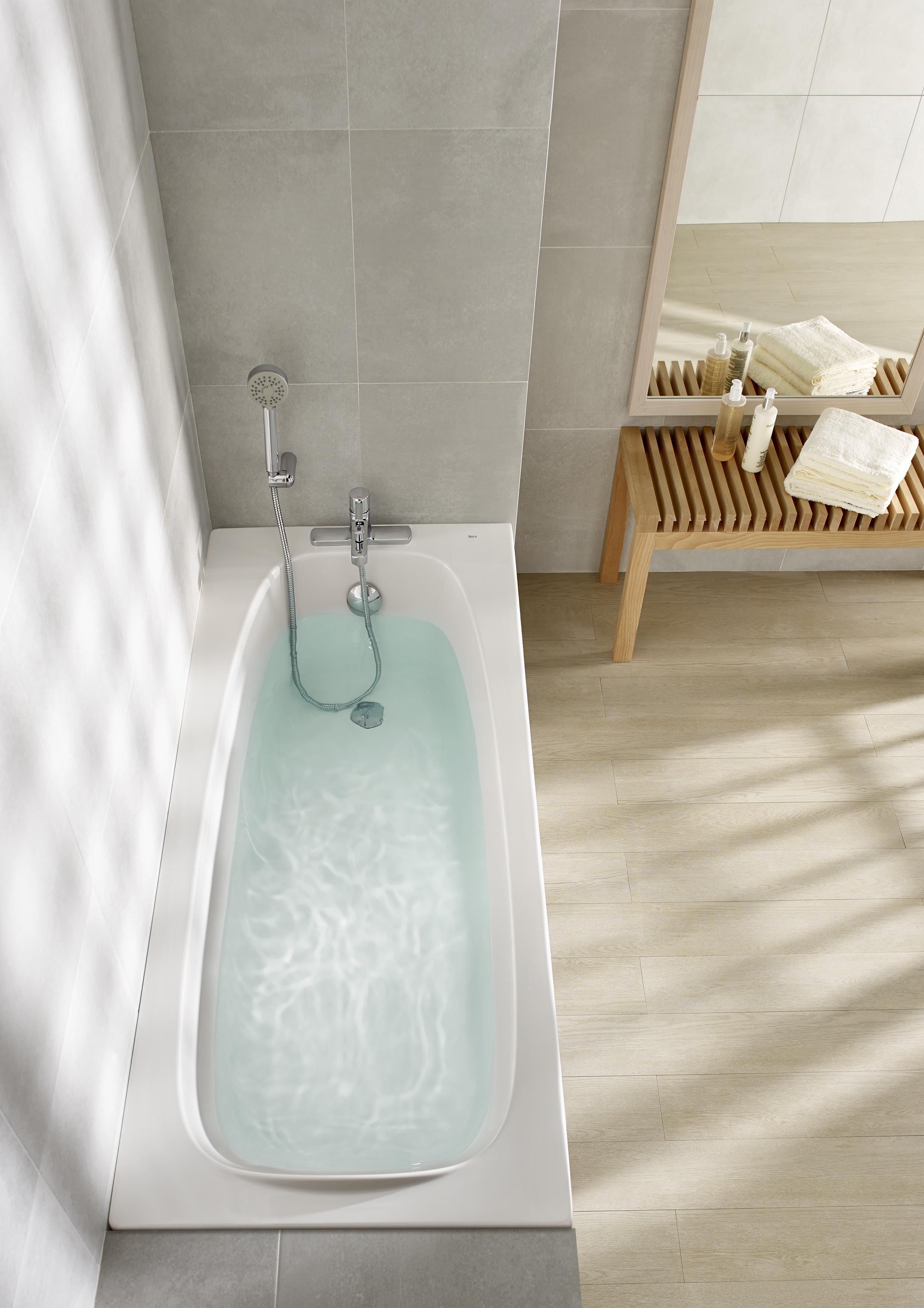 Roca has launched new Malaga acrylic bathtub - Installer ...