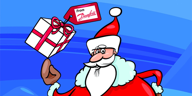 Danfoss Christmas web
