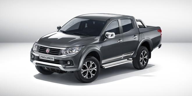 Popular - New Fiat Fullback pick-up truck unveiled