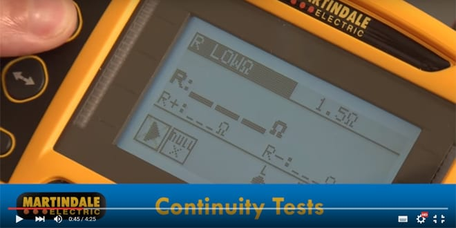 Popular - How to test electrical installations