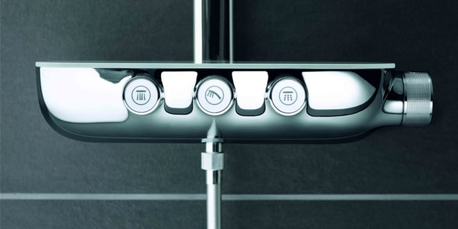 Popular - New GROHE Rainshower® system comes with SmartControl push button technology