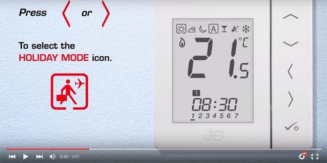 Popular - Installation videos for JG Aura heating controls