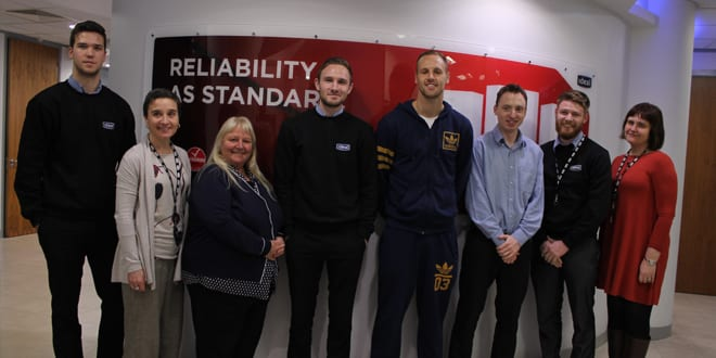 Popular - Hull City A.F.C. star visits Ideal Boilers