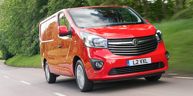Popular - Vauxhall built the most vans in the UK during 2015