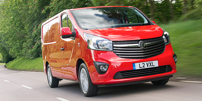 Vauxhall built the most vans in the UK during 2015