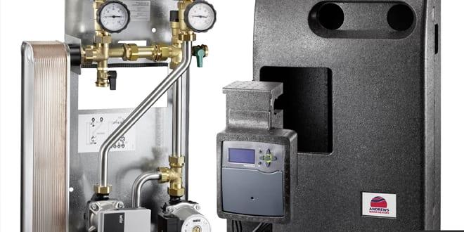Popular - New Andrews HEXflo plate heat exchanger provides instantaneous hot water