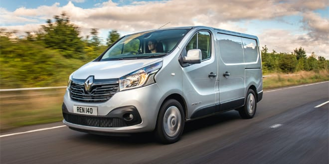Popular - Best ever year for Renault van sales in the UK