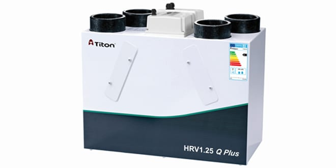 Popular - Titon Mechanical Ventilation with Heat Recovery units are compliant with EU ventilation regs